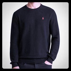 Ralph Lauren Black Crew Neck Sweater Size 2XL TALL